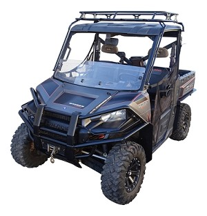 2013-2017 Polaris Ranger full size (XP style) models Mud Flares
