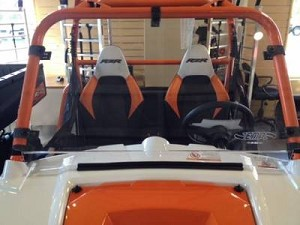 RZR Hard Coat Cooter Brown Windshield
