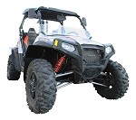 Polaris RZR-S 800 Mud Flares
