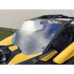 Can-Am Maverick X3 Hard Coated Windshield w/Fast Straps