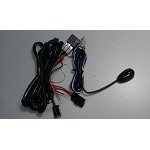 Double plug wiring harness